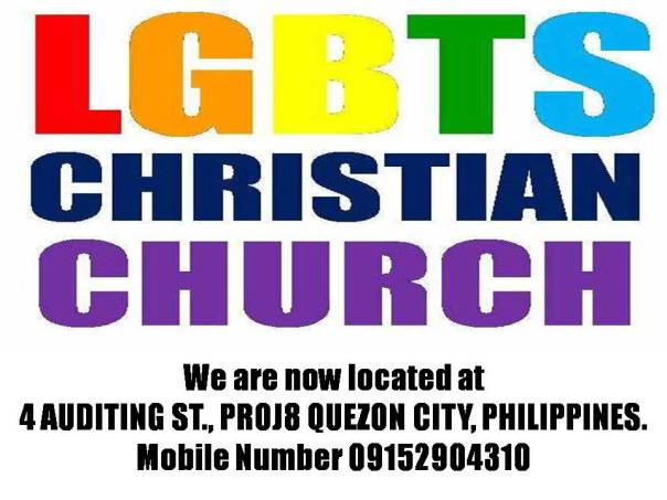 LGBTS Christian Church is located now at 4 AUDITING ST.PROJ8 QC, PHILS.