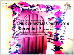 Pink Christmas Party 2014